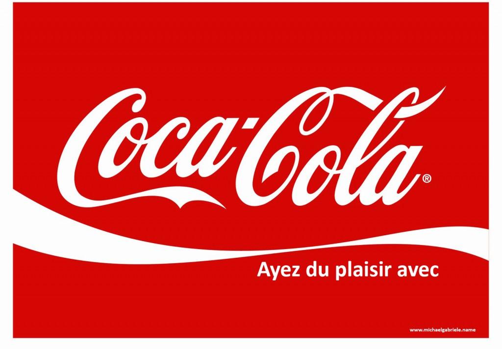 """Coca-Cola encore avec son """"Enjoy"""" que j'ai traduit par """"Ayez du plaisir avec"""" un brin autoritaire, certes, mais c'est pour votre bien bordel."""