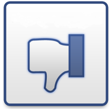 facebook dislike like button
